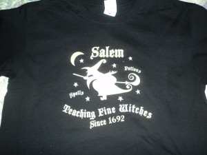T shirt bought at the House of Seven Gables in Salem, MA (Photo: Nance Carter)