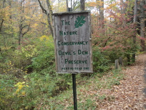 Devil's Den Preserve in Weston, CT (Photo: Nick Carter)