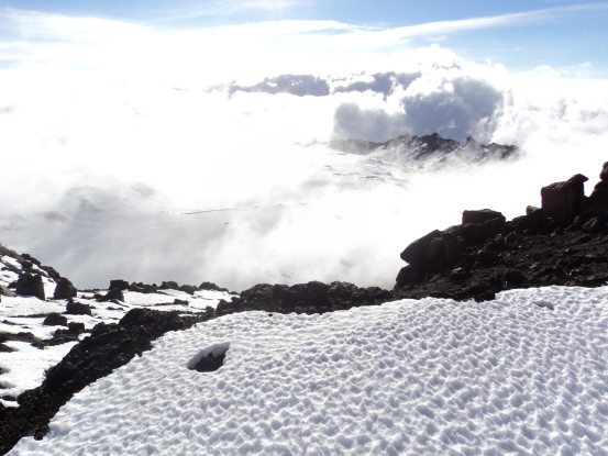 Atop Mount Kilimanjaro (Photo: Nick Carter)