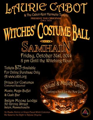 Laurie Cabot's Witches' Costume Ball