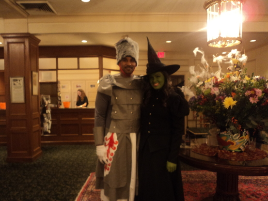 Wizard of Oz characters at the Hawthorne Hotel (Photo: Nance Carter)