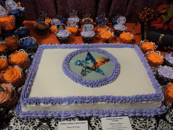 Dessert table at Witches' Ball (Photo: Nance Carter)