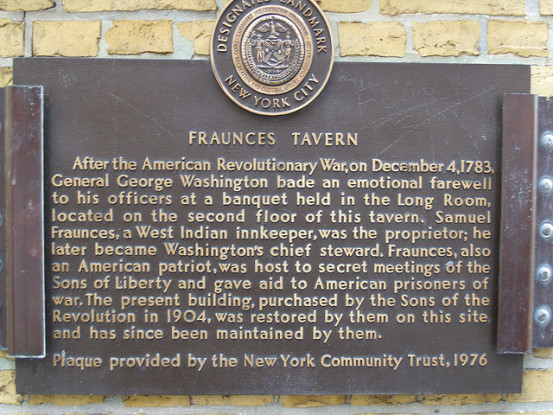Fraunces Tavern (Photo: Ernest McGray, Jr/flickr)
