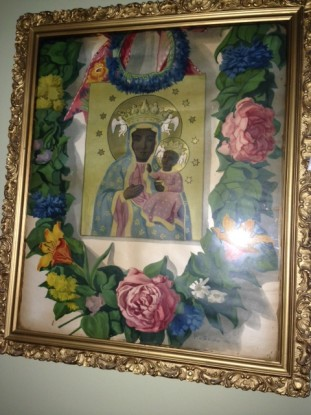 Family copy of Our Lady of Czestochowa