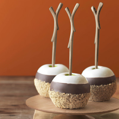 Oooh Smores apples!! www.countryliving.com