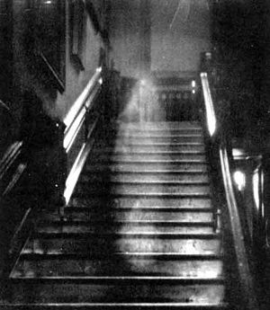 Brown Lady of Raynham Hall, England 1936 (Photo by Captain Hubert C. Provand)