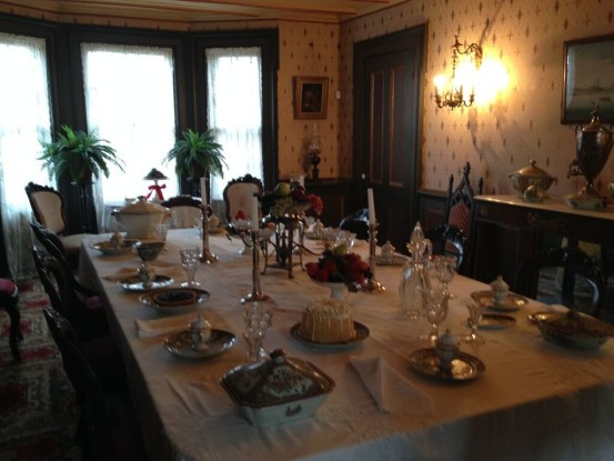 Raynham Hall dining room (Photo: Nance Carter)