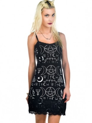 witch curse dress